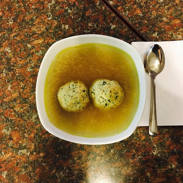 Matzot Ball Soup @ Smallman Street Deli