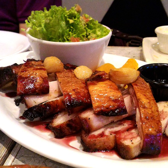Roast Pork Belly @ Spätzle Euro Market Cafe