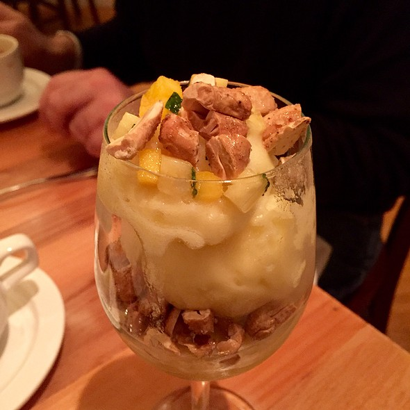Pineapple Sorbet - Lumiere, West Newton, MA