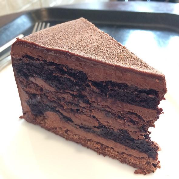 Dark Belgian Chocolate Cake