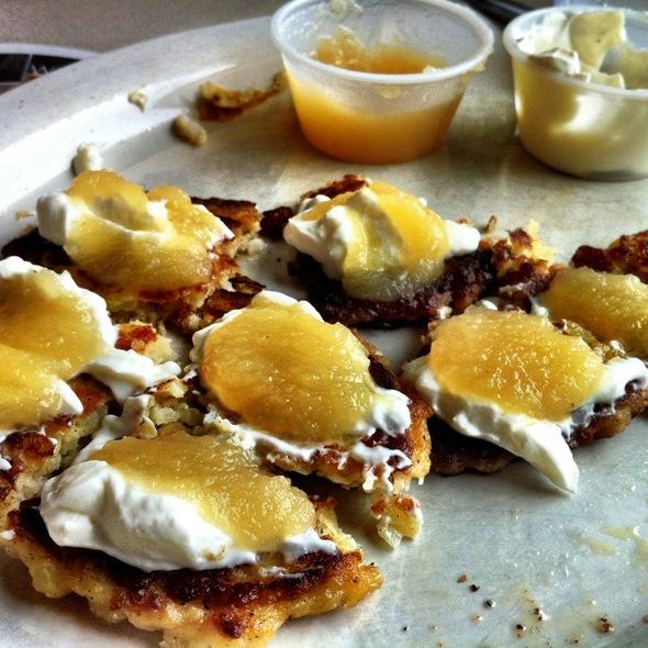 Potato Pancakes @ Roscoe Diner