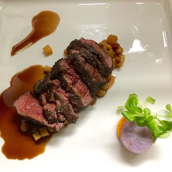 Elk Tenderloin @ Eloisa Restaurant