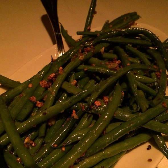 Sauteed Green Beans With Garlic - Strip House - Las Vegas, Las Vegas, NV