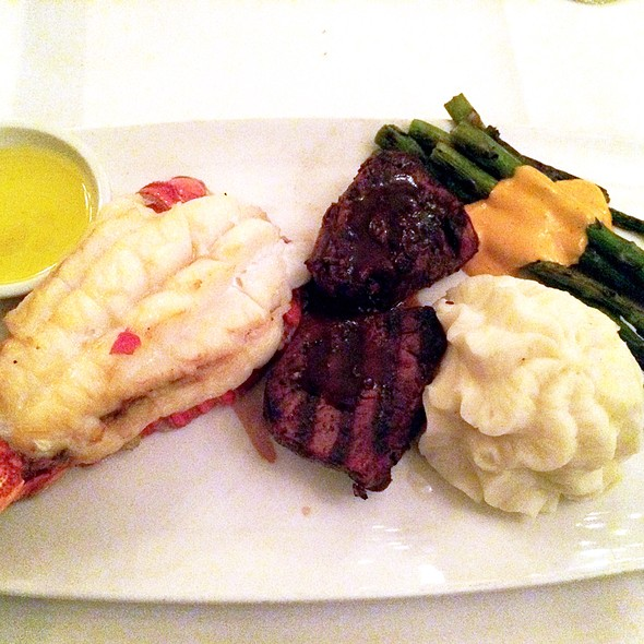 Filet Mignon & Lobster - The Sycamore Inn Prime Steak House, Rancho Cucamonga, CA