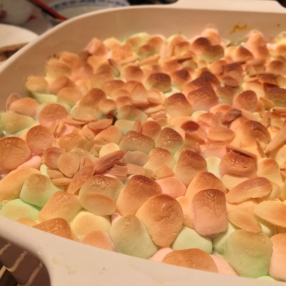Sweet Potato with Marshmallows @ Mama Chops' Place