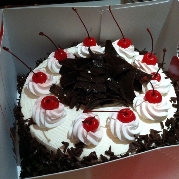 Red ribbon cakes recipe black forest