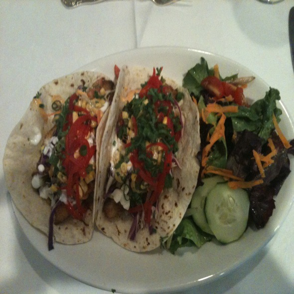 red fish tacos - 1908 Provisions, Jackson, MS