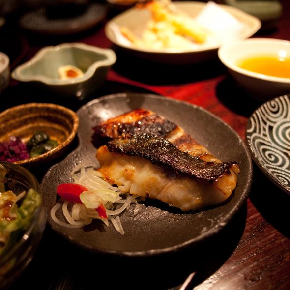 Miso Glazed Black Cod @ Nami Nami