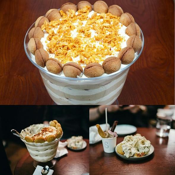 Banana Pudding @ Shotgun BBQ Restaurant