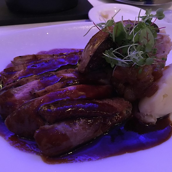 Muscovy Duck With Foie Gras @ Gotham Bar & Grill