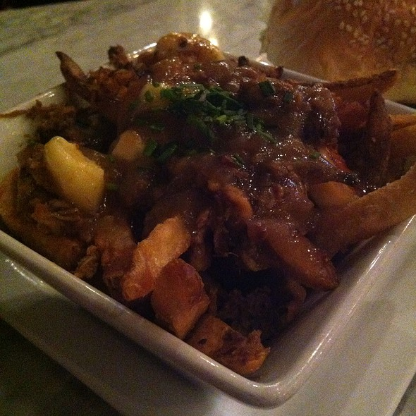 Pulled Pork Poutine @ Local Burger