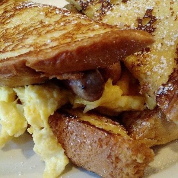 French Toast Sandwich @ Rocky's Cafe