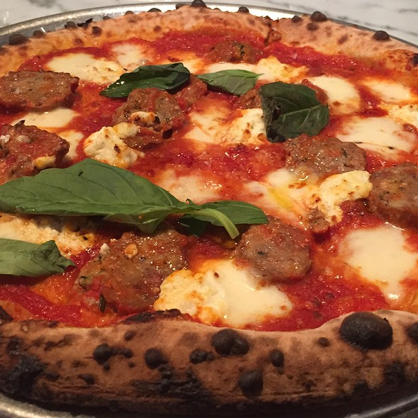 Meatball Pizza @ Pizzeria Vetri