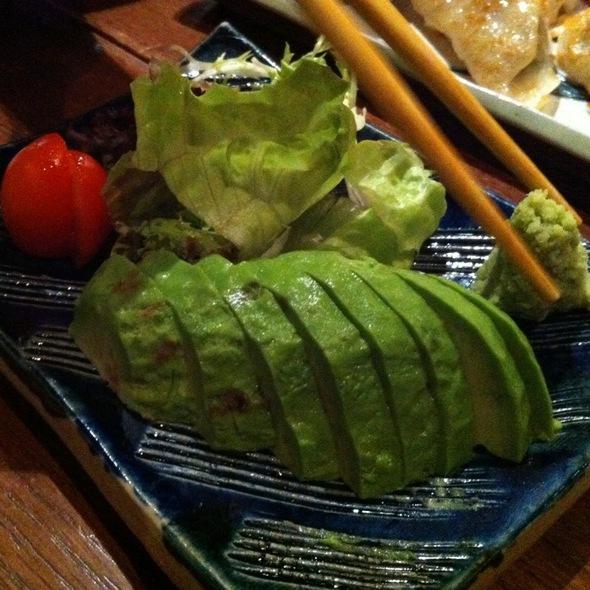 Avocado Sashimi at Kusuya Rakuen