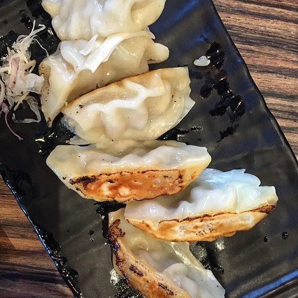 Pork and Cabbage Gyoza @ Gyoza Bar
