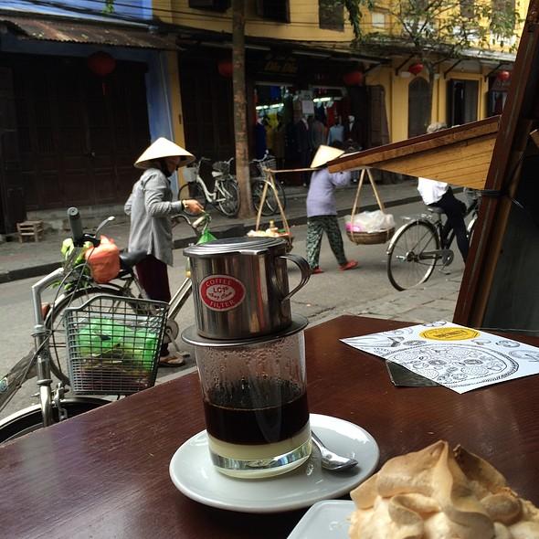 Vietnamese Coffee @ Before & Now Restaurant