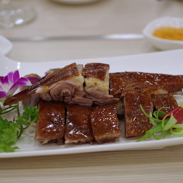 Peking Duck @ Yeebo Seafood & Hot Pot Restaurant
