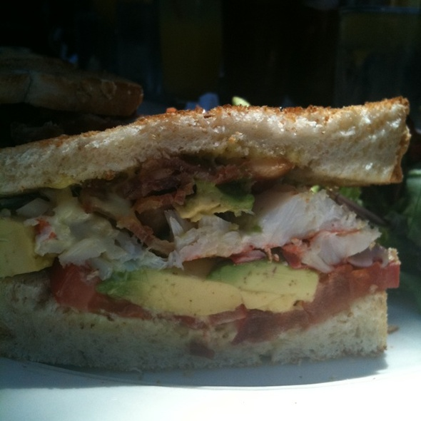 Lobster, Bacon, Avocado Sandwich - Garage Restaurant and Cafe, New York, NY