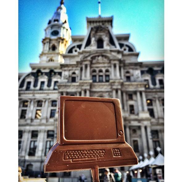 Chocolate Computer @ City Hall