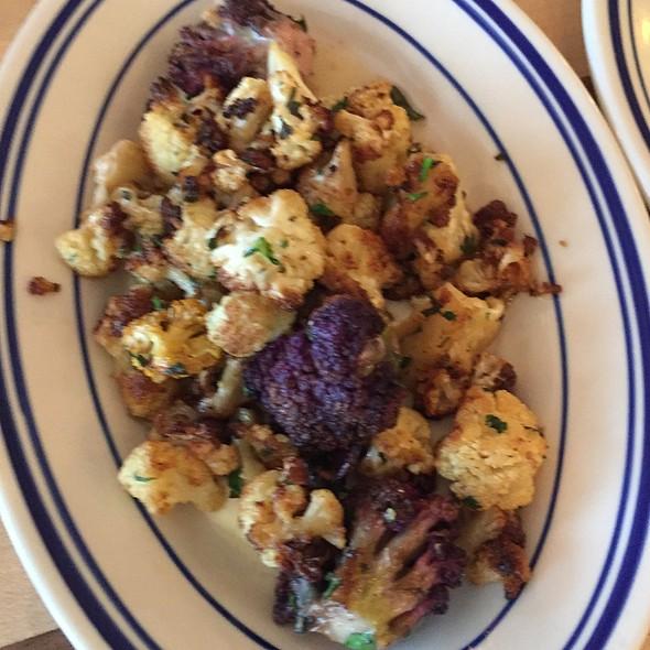roasted cauliflower @ Main Street Meats