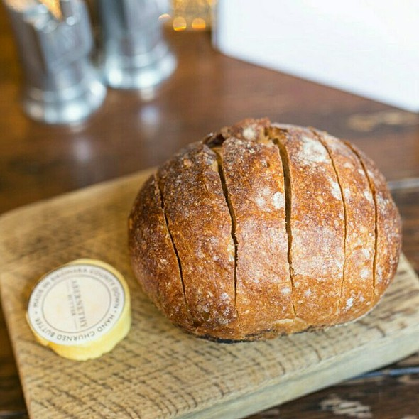 Homemade Bread With Butter @ Holborn Dining Room