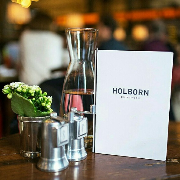 Holborn Dining Room's Menu @ Holborn Dining Room