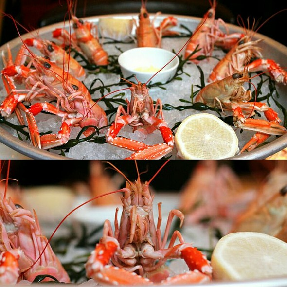 Roasted Langoustines @ Holborn Dining Room