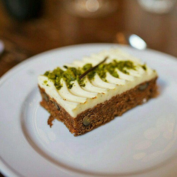 Carrot Cake @ Holborn Dining Room