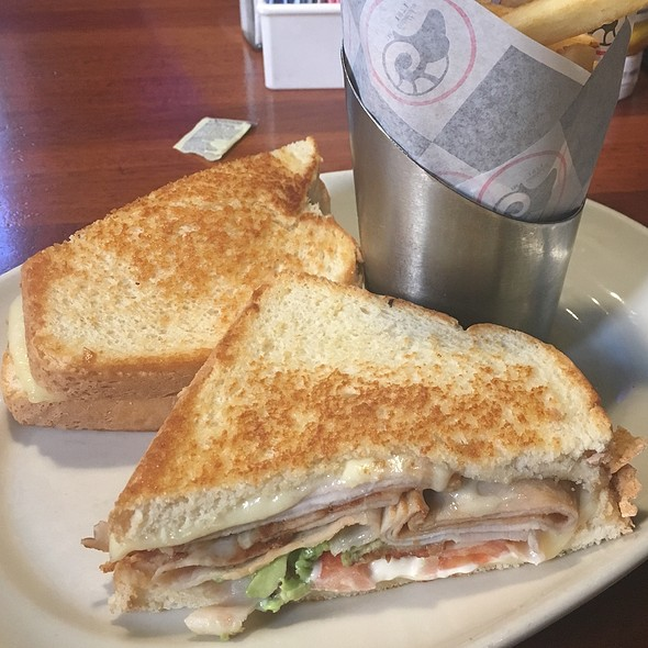 Turkey Havarti Melt @ Ram Restaurant & Brewery