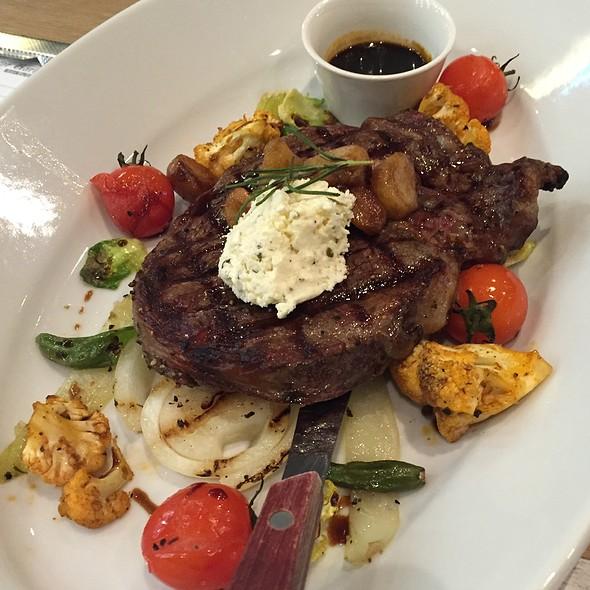 Herb Feta Ribeye Steak