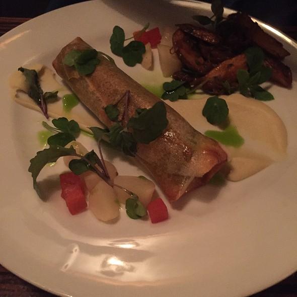 Tofu Strudel @ Twenty Five Lusk