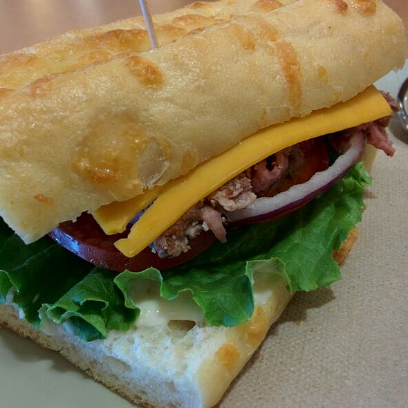 Asiago Steak Sandwich @ Panera Bread