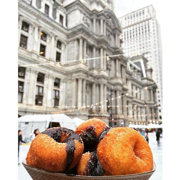 Chocolate Covered Mini Donut @ City Hall