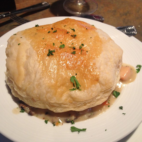 Seafood Pot Pie - Lombard's Seafood Grille, Orlando, FL