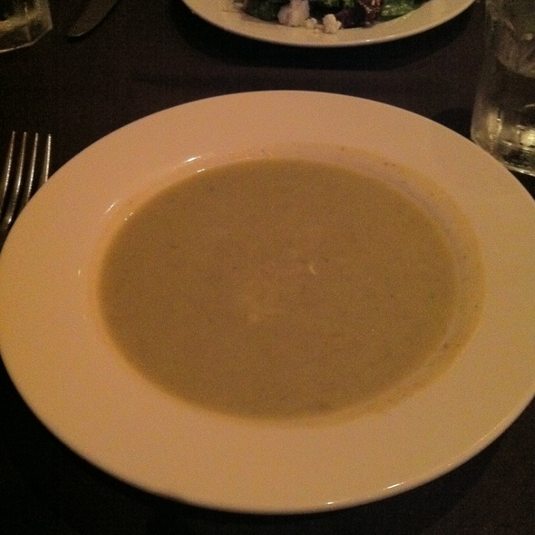 Potato Leek Bisque @ Pisces California Cuisine