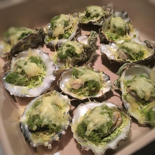 Herb And Comté Gratinated Oysters