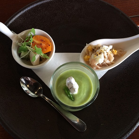 Appetizer Trio @ MW Restaurant
