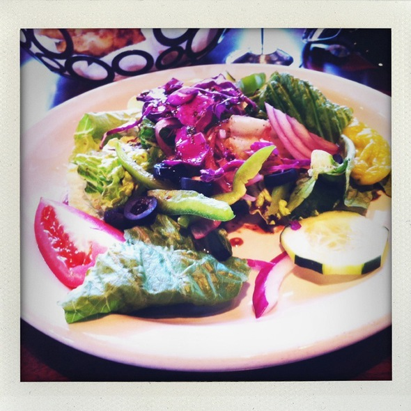 House Salad @ russo's new york coal-fired italian kitchen