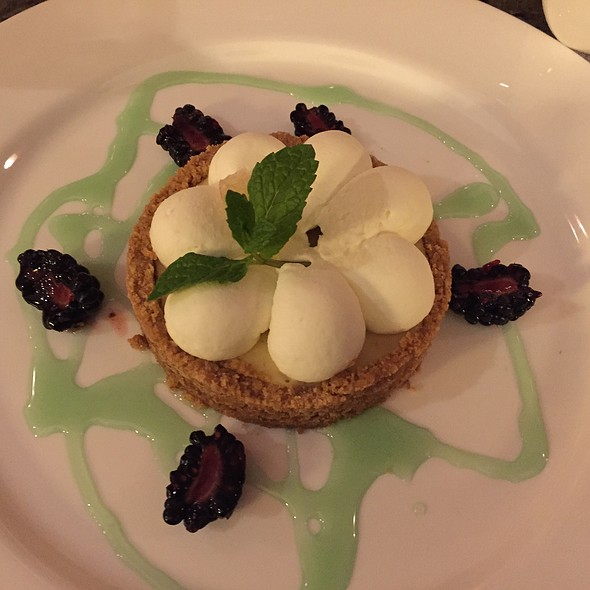 Individual Key Lime Pie @ Pebble Beach Resorts: Inn at Spanish Bay