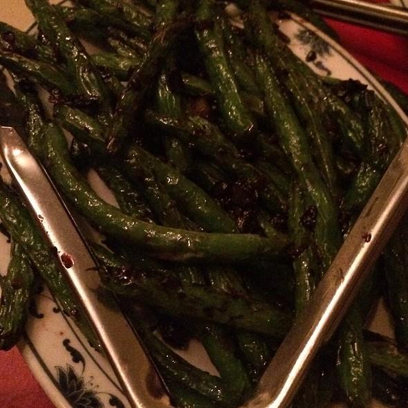 Dry Fried Green Beans - A Single Pebble, Burlington, VT