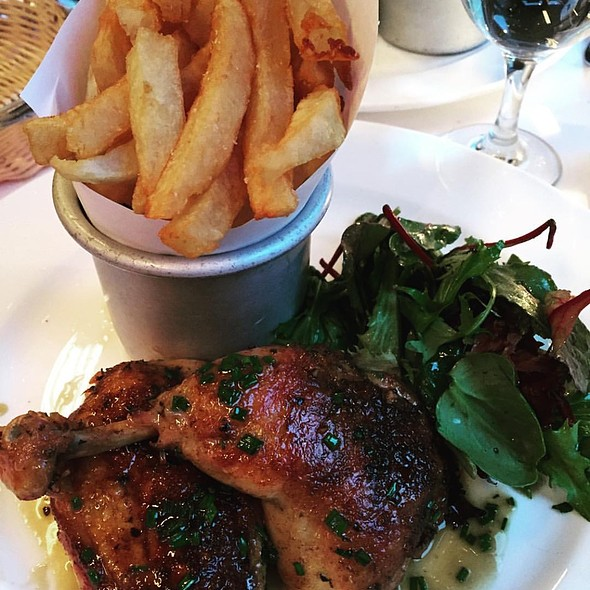 Roasted Free Range Chicken with Pomme Frite  - Felix, New York, NY
