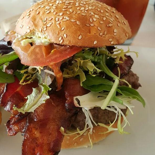Burger With Bleu Cheese And Bacon - Rhumb Line, Ventura, CA