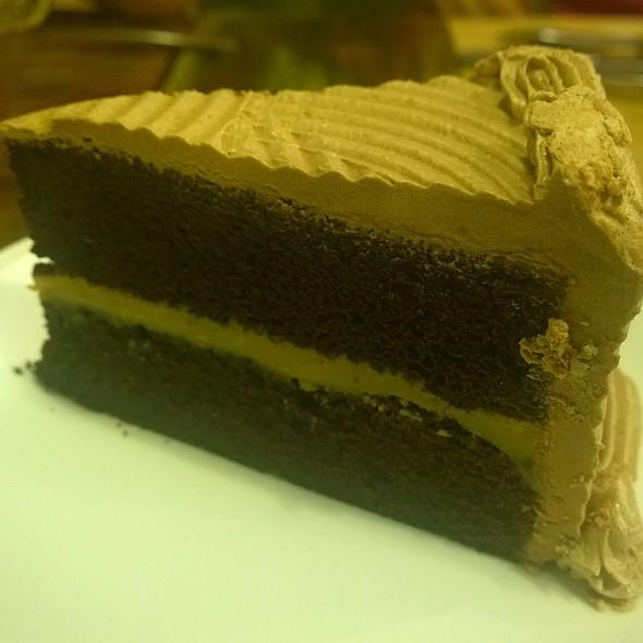 Chocolate Cake with Yema Filling