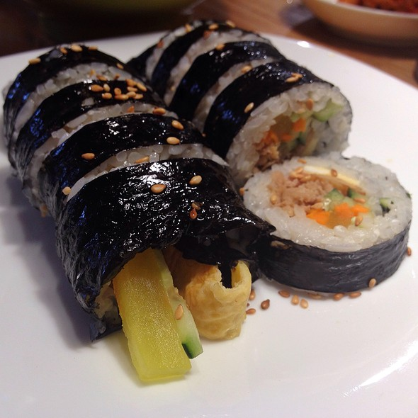 Chicken Gimbap @ SHP Bibimbap Cafe & Restaurant