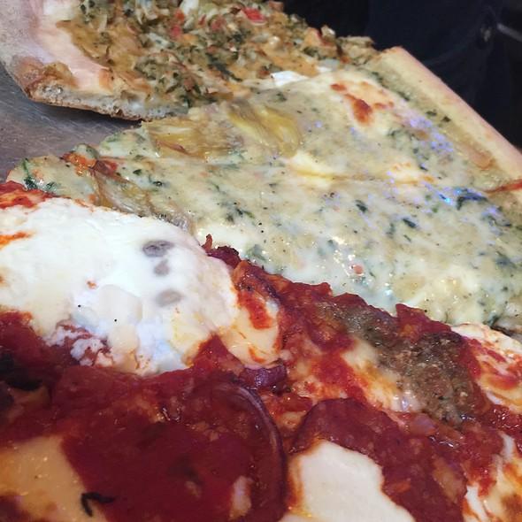 Artichoke Pizza, Crab Pizza, Meatball Pizza @ Artichoke Basille's Pizza & Bar - Chelsea