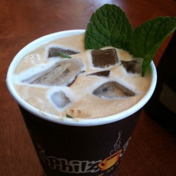 Iced mint mojito latte @ Philz Coffee