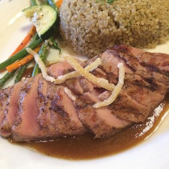 Duck Brest In Apricot Dijon Sauce - Kilauea Lodge and Restaurant, Volcano, HI