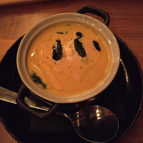 Butternut Squash Soup @ Waterworks