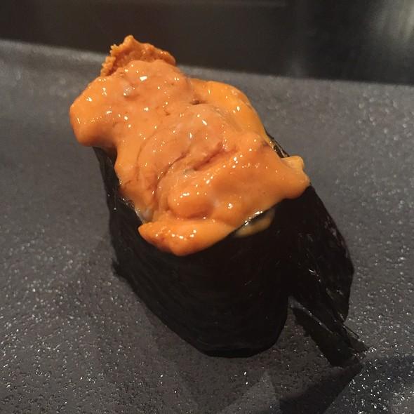 Japanese Uni Sushi @ Sushi Nakazawa