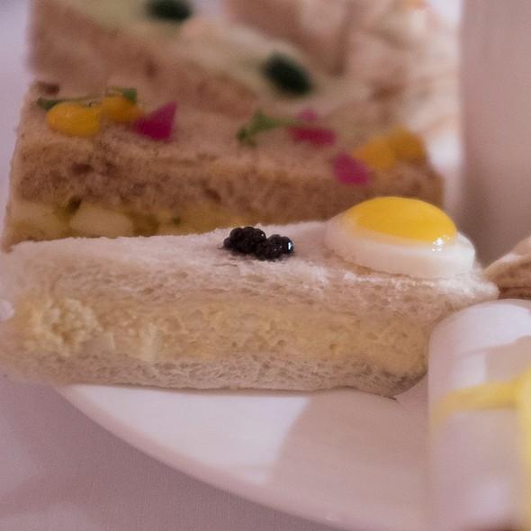 Egg And Mayonnaise, Quail Egg And Caviar Sandwich